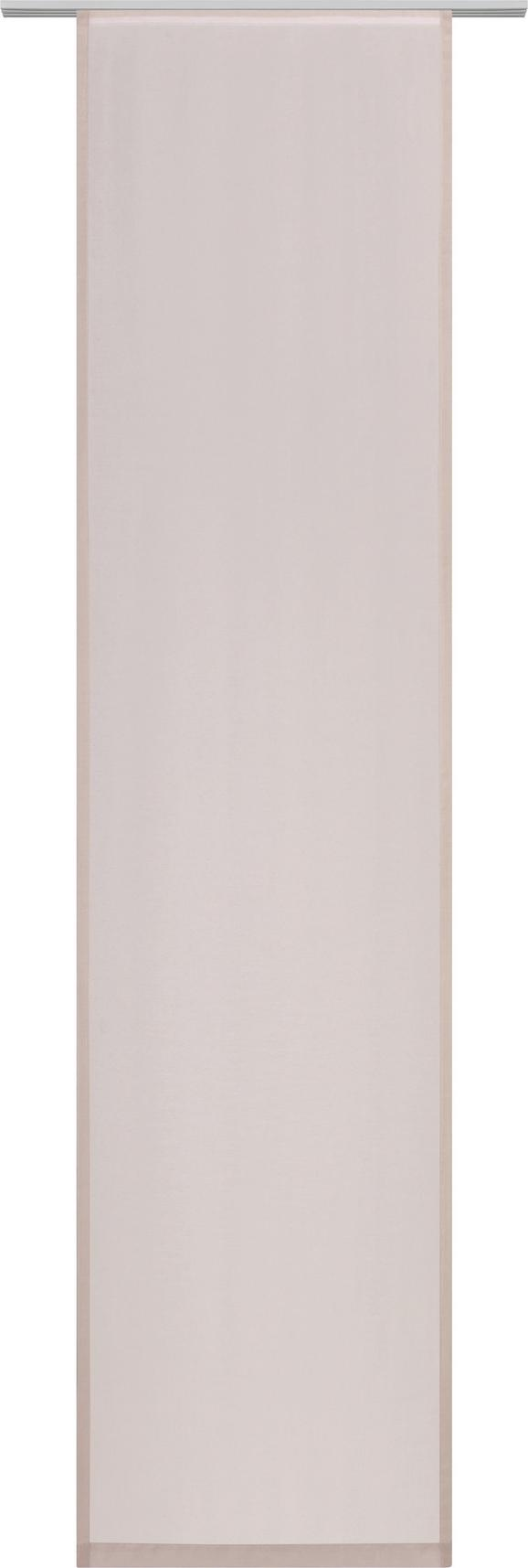 Flächenvorhang Uni in Taupe, ca. 60x245cm - Taupe, MODERN, Textil (60/245cm) - MÖMAX modern living