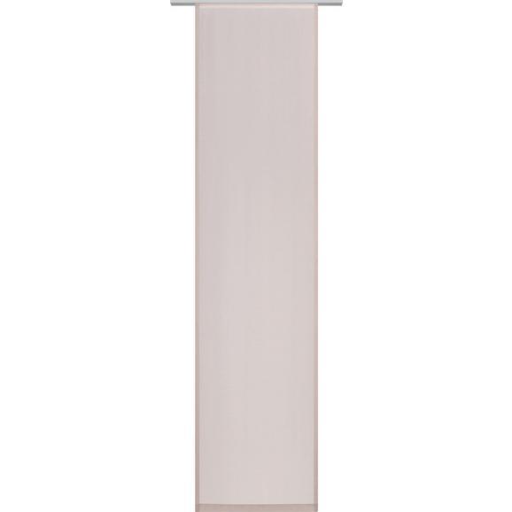 Panelna Zavesa Uni - sivo rjava, Moderno, tekstil (60/245cm) - Mömax modern living