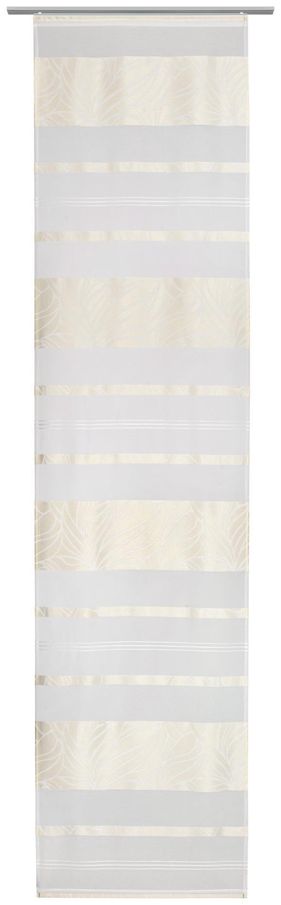 Flächenvorhang Anita Beige - Beige, Textil (60/245cm) - Modern Living