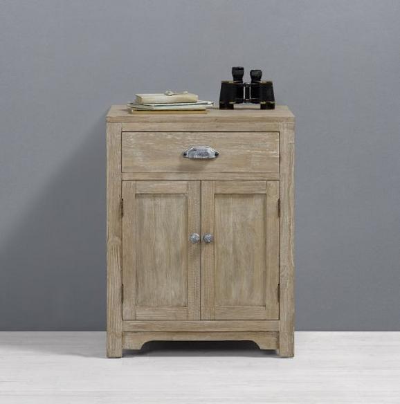 Nachtkästchen Savannah Antik - Kieferfarben, MODERN, Holz/Metall (50/37/65,5cm) - Mömax modern living