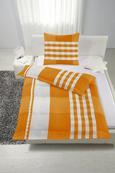 Bettwäsche Gerda ca. 135x200cm - Türkis/Orange, Textil (135/200cm) - Mömax modern living