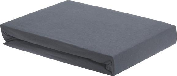 Spannbetttuch Elasthan ca. 180x200cm - Anthrazit, Textil (180/200/28cm) - PREMIUM LIVING