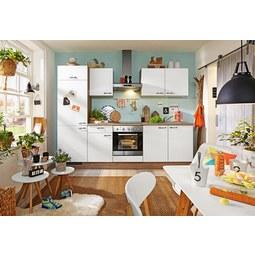 Kuhinjski Blok Win -based- - bela/hrast, leseni material (270cm) - BASED