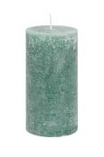 Sveča Ruth - Rustik -top- - siva/zelena, Moderno (10/20cm) - Mömax modern living