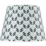 Lámpaernyő Blomma - Fehér/Fekete, modern, Textil (16,5-20/15,6cm) - Mömax modern living