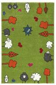 Gyerekszőnyeg Rudi - Zöld, Textil (80/120cm) - Mömax modern living