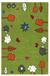 Kinderteppich Rudi in Grün, ca. 80x120cm - Grün, Textil (80/120cm) - MÖMAX modern living