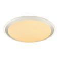 LED-Deckenleuchte Rolli max. 30 Watt - KONVENTIONELL, Kunststoff/Metall (53/9cm)