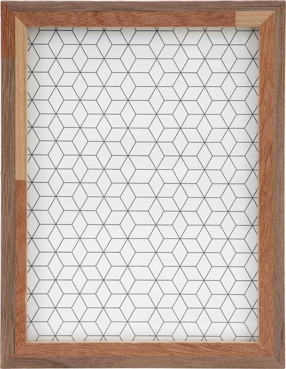 Okvir Za Slike Woody - rjava, steklo/les (17/22/3cm) - Mömax modern living