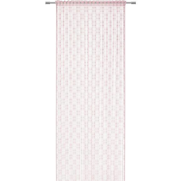 Fadenstore Tom Rosa - Rosa, ROMANTIK / LANDHAUS, Textil (95/240cm) - Mömax modern living