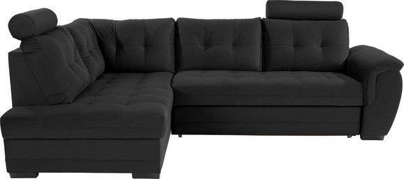 Sedežna Garnitura Falco - temno siva/črna, Moderno, kovina/umetna masa (183/251cm) - Mömax modern living