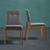 Stuhl Jarry - Hellgrau, MODERN, Holz/Textil (47/86/58cm) - Bessagi Home