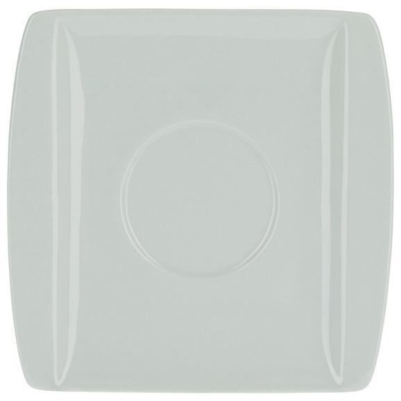 Krožniček Pura Mint - meta zelena, Moderno, keramika (12,7/12,8cm) - Mömax modern living