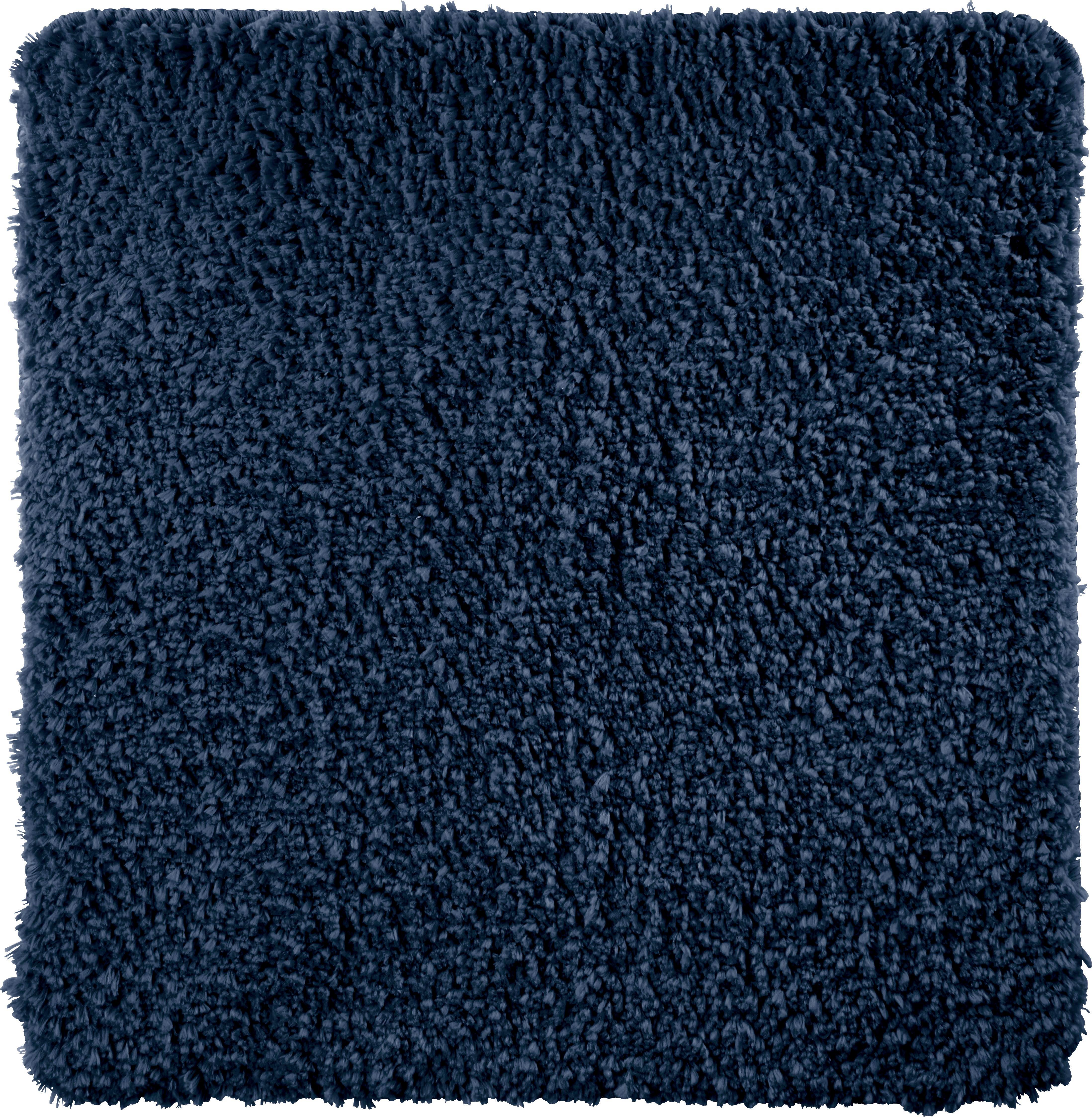 Badematte Christina ca. 50x50cm - Blau, Textil (50/50cm) - MÖMAX modern living