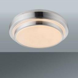 Stropna Led-svetilka Melvin - bela, Konvencionalno, kovina/umetna masa (35/10cm) - MÖMAX modern living