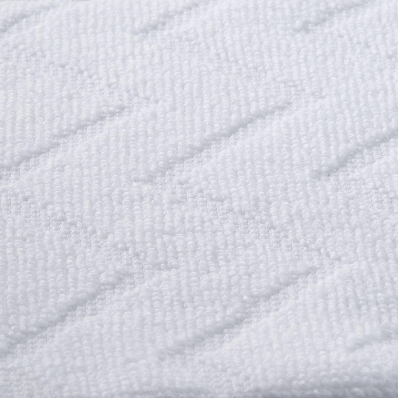 Törölköző Peter - fehér, textil (50/100cm) - MÖMAX modern living