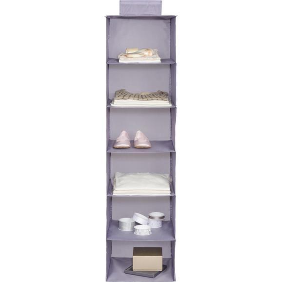Viseči Organizator Kläck - siva, Moderno, tekstil (33/125/35cm) - Mömax modern living