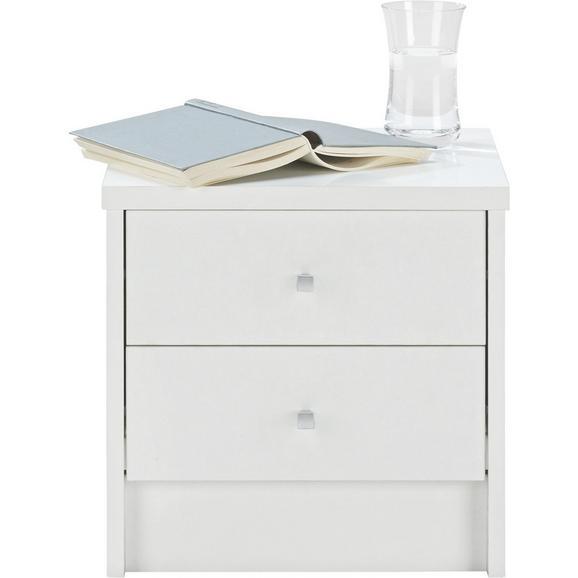 Éjjeliszekrény One - Fehér, Fa (37,4/37/33,5cm)