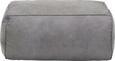 Hocker Grau - Grau, Textil (90/40/60cm) - Modern Living