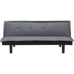 Zofa Lionel - siva, Moderno, umetna masa/tekstil (174/71/81,5cm) - Modern Living