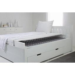 Matratze ca. 120x200cm - Weiß, Textil (120/200cm) - Nadana