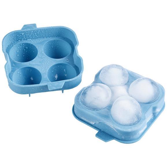 Eiswürfelform Chris Blau - Blau, MODERN, Kunststoff (12/12/4cm) - Mömax modern living