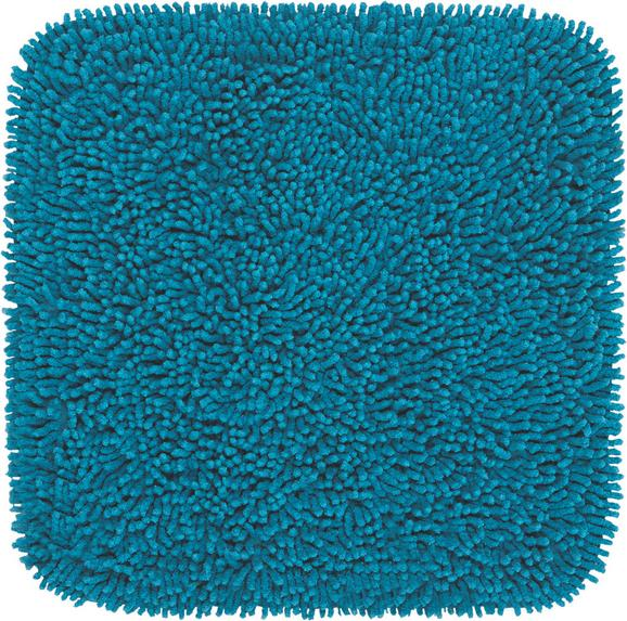 Badematte Jenny ca. 50x50cm - Petrol, Textil (50/50cm) - MÖMAX modern living