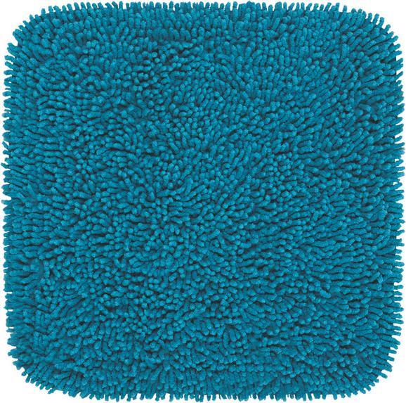 Badematte Jenny Petrol 50x50cm - Petrol, Textil (50/50cm) - Mömax modern living
