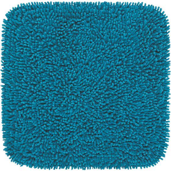 Fürdőszobaszőnyeg Jenny 50/50 - Olajkék, Textil (50/50cm) - Mömax modern living