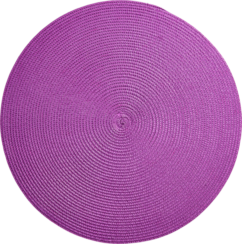 Tischset Billy in Violett - Violett, Kunststoff (38cm) - MÖMAX modern living