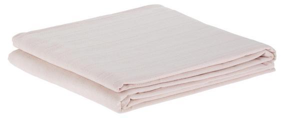 Pregrinjalo Solid One -ext- - pastelno roza, tekstil (240/210cm) - Based