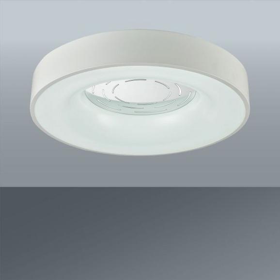LED-Deckenleuchte Elfie, max. 2x36 Watt - Weiß, KONVENTIONELL, Kunststoff/Metall (50/12cm) - Mömax modern living