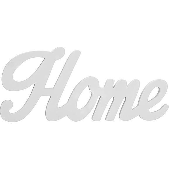 Dekorativne Črke Home - bela, Moderno, leseni material (56/24/1,2cm) - Mömax modern living