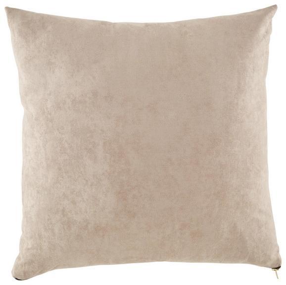 Zierkissen Zoe in Beige, ca. 60x60cm - Beige, MODERN, Textil (60/60cm) - Premium Living