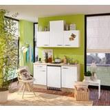 Kuhinjski Blok Venezia Valero - barve hrasta/bela, Moderno, leseni material (150cm)