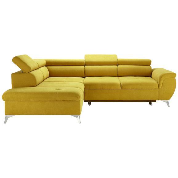 Sjedeća Garnitura Monk - tirkizna/boje srebra, Konventionell, tekstil/metal (222-271/80-101/113cm) - Modern Living