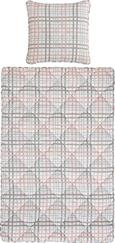 Bettenset Vera, ca. 135x200cm - Blau/Rosa, Textil (135/200cm) - Mömax modern living