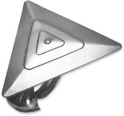 Függönyelkötő Nickel Matt - ezüst színű, modern, fém (10/15/4cm) - MÖMAX modern living