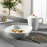 Frühstücksset Vivo Simply Fresh 2-tlg - Weiß, KONVENTIONELL (16,1/16,1/24,5cm) - Vivo