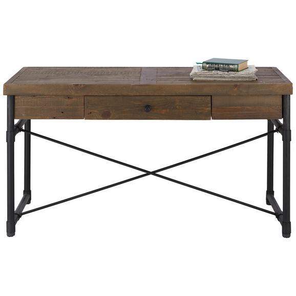 schreibtisch naturfarben online kaufen m max. Black Bedroom Furniture Sets. Home Design Ideas