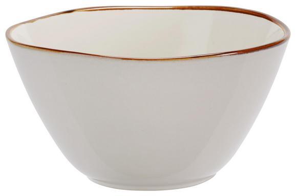Müslischale Aneta Weiß - Weiß, LIFESTYLE, Keramik (15/8cm) - Mömax modern living