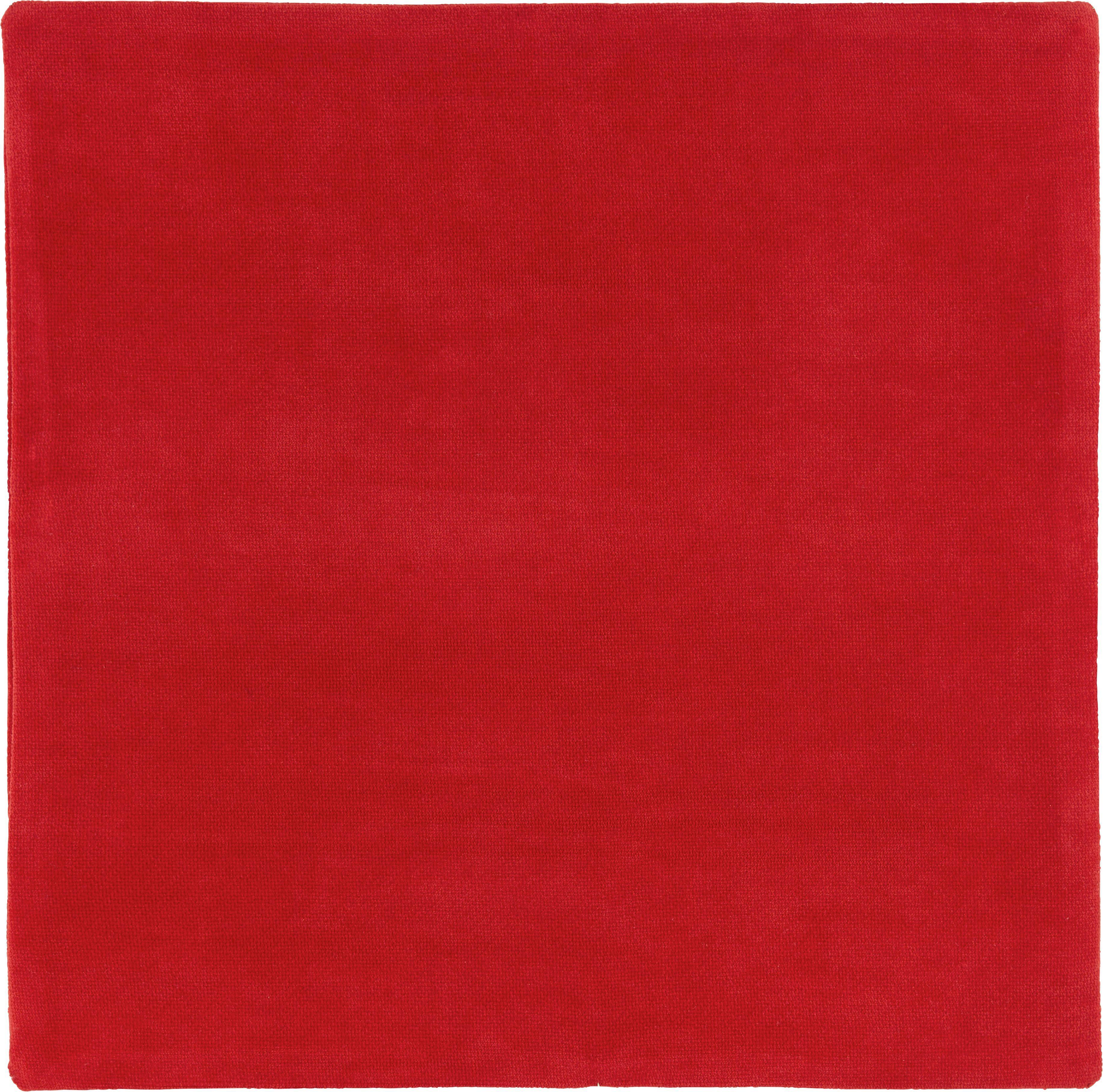 Kissenhülle Marit, ca. 40x40cm - Rot, Textil (40/40cm) - MÖMAX modern living