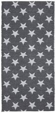 Outdoorteppich Stars 70x140cm - Weiß/Grau, MODERN, Textil (70/140cm) - MÖMAX modern living
