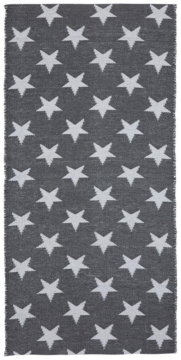 Teppich Outdoor Stars ca.70x140cm - Weiß/Grau, MODERN, Textil (70/140cm) - Mömax modern living