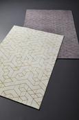 Webteppich Berlin Rot/Grau 120x170cm - Dunkelgrau/Rot, Textil (120/170cm) - Mömax modern living