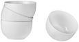 Müslischale Billy aus Porzellan, 4-teilig - Weiß, Design, Keramik (13/7,4cm) - Mömax modern living