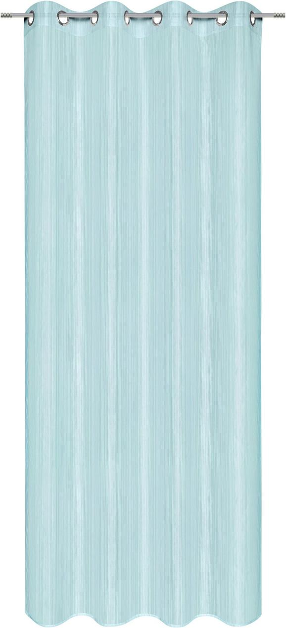 Ösenschal Selma, ca. 140x245cm - Jadegrün/Rosa, ROMANTIK / LANDHAUS, Textil (140/245cm) - Mömax modern living