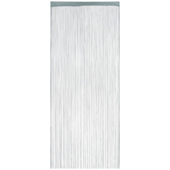 Zsinórfüggöny Franz 90/245 - Kék, Textil (90/245cm) - Modern Living