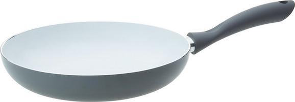 Serpenyő Sonia - fehér/szürke, modern, műanyag/fém (28cm) - Mömax modern living