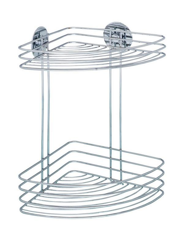 Duschregal aus Stahl - MODERN, Metall (26,5/33/20cm) - Mömax modern living